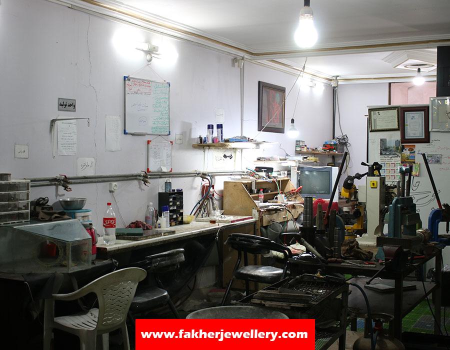 کارگاه ساخت طلا و نقره