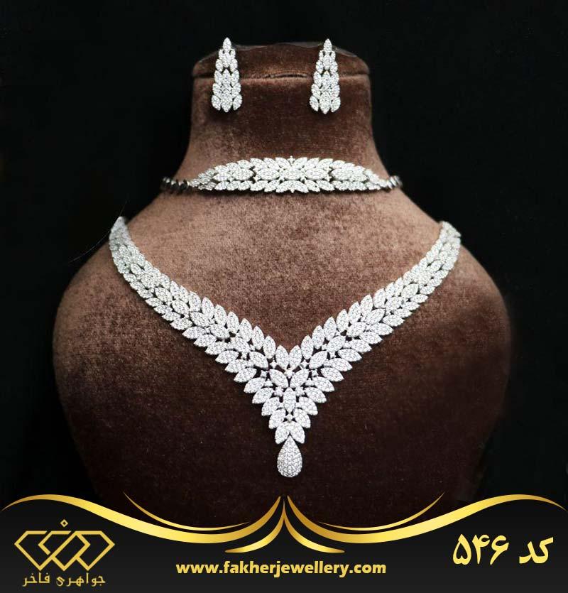 سرویس جواهری طرح طلا کد 546