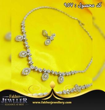 سرویس جواهری طرح طلا کد957