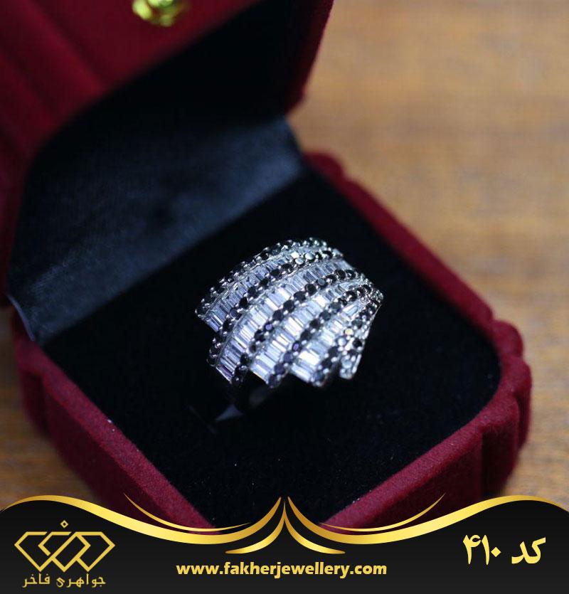 انگشتر جواهری خاص کد 410