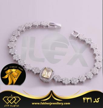 دستبند جواهری کد 431