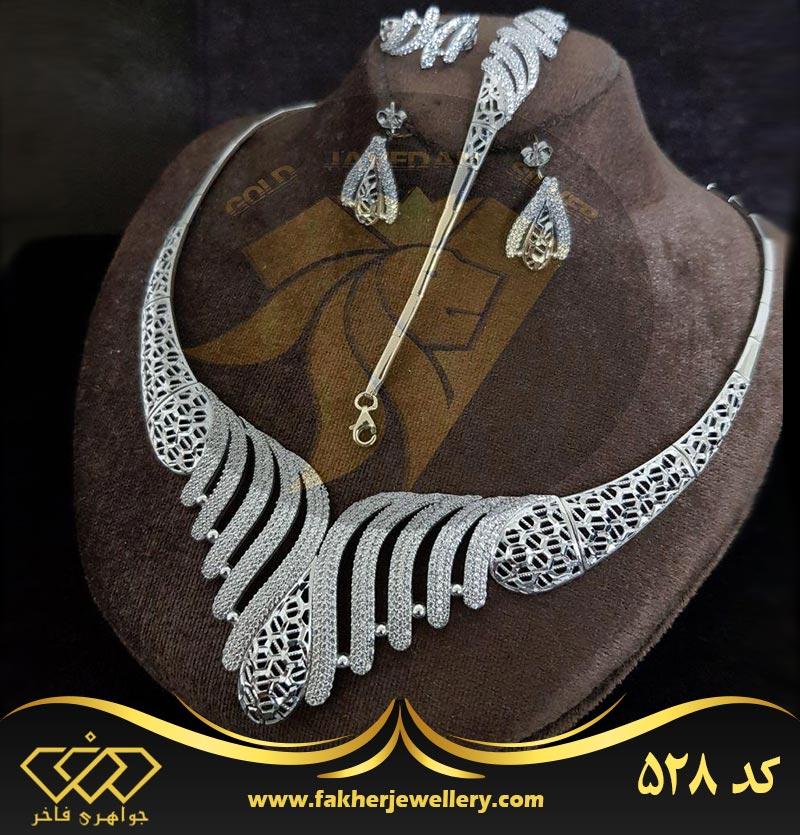 سرویس جواهری طرح طلا کد 528