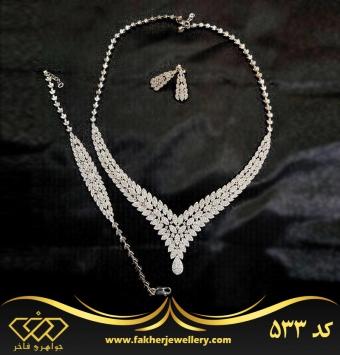 سرویس جواهری طرح طلا کد 533