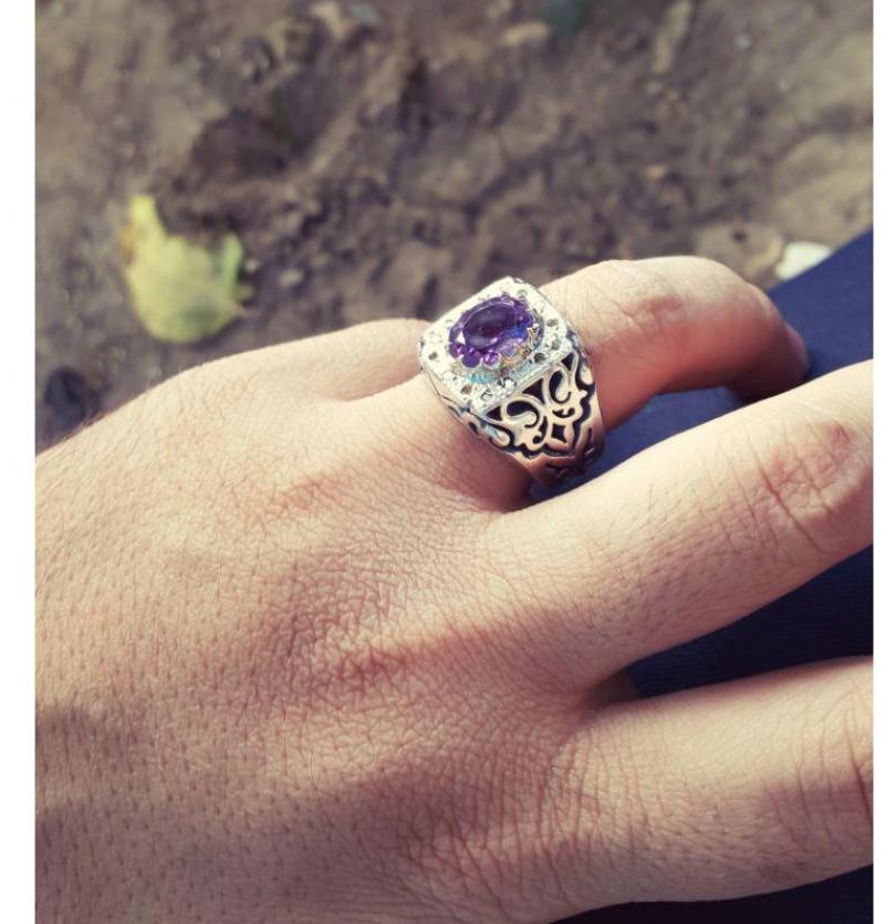 انگشتر جواهری برلیان شناسنامه دار