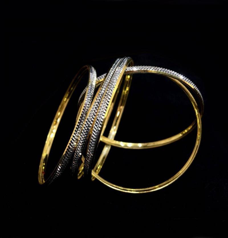النگو نقره طرح و به ظرافت خود طلا