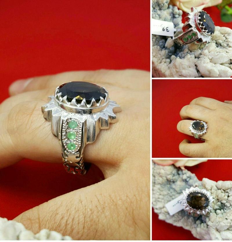 انگشتر انیکس الماس تراش اصل