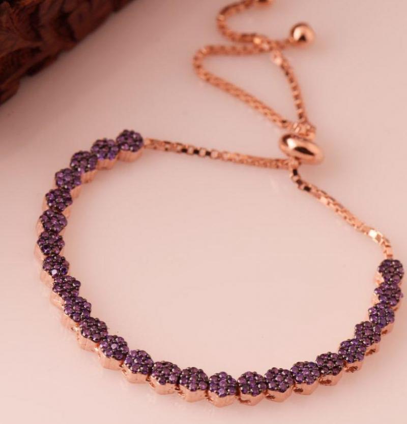 دستبند جواهری لاکچری